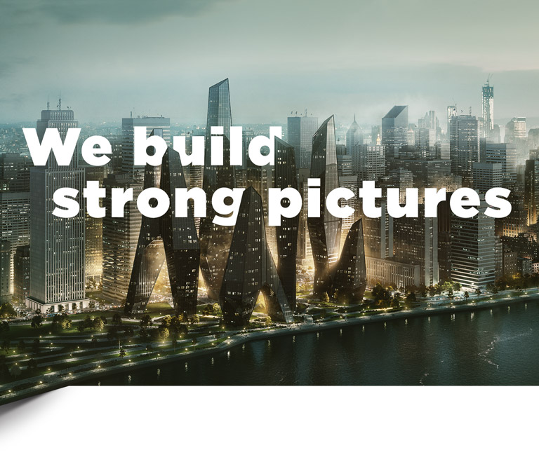 We build strong pictures